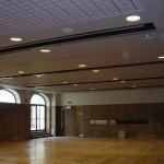 controsoffitto modulare in cartongesso per hall albergo