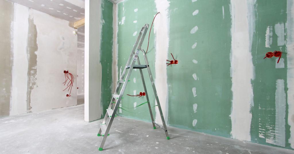 Cartongesso per pareti divisorie