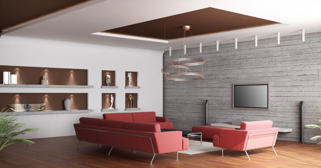 Idee per utilizzare al meglio il soffitto in cartongesso